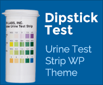 Dipstick Test - Urine Test Strip WordPress Theme & Template