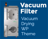 Vacuum Filter - Vacuum Drying WordPress Theme & Template