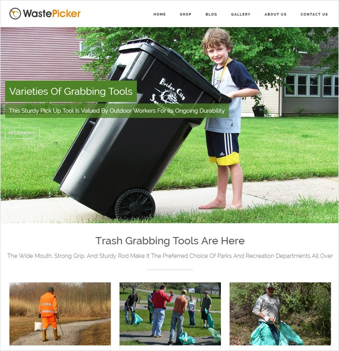 WastePicker WP theme