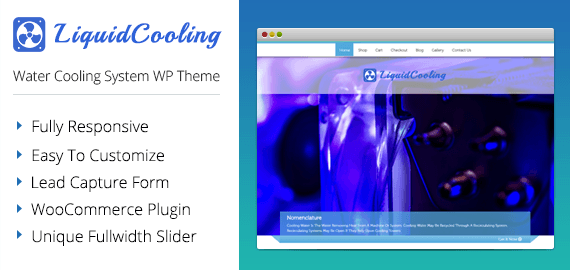 [LiquidCooling] Water Cooling System WordPress Theme