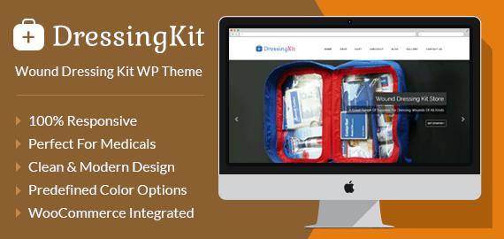 {DressingKit} Wound Dressing Kit WordPress Theme