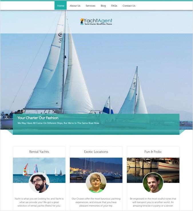 YachtAgent WP theme