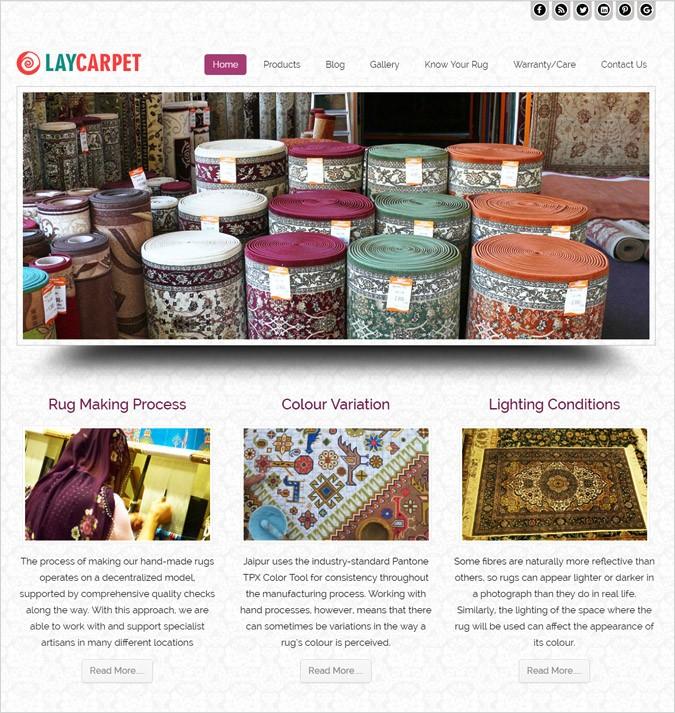 lay carpet