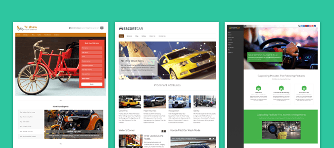8+ Best Taxi WordPress Themes For Cabs & Car Rental Business