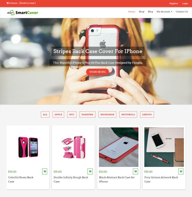 SmartCover WP theme
