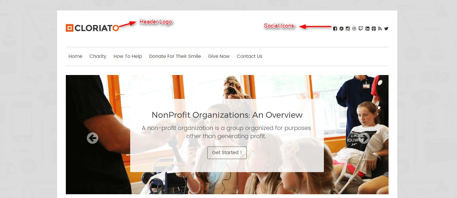 Cloriato WordPress Theme Documentation