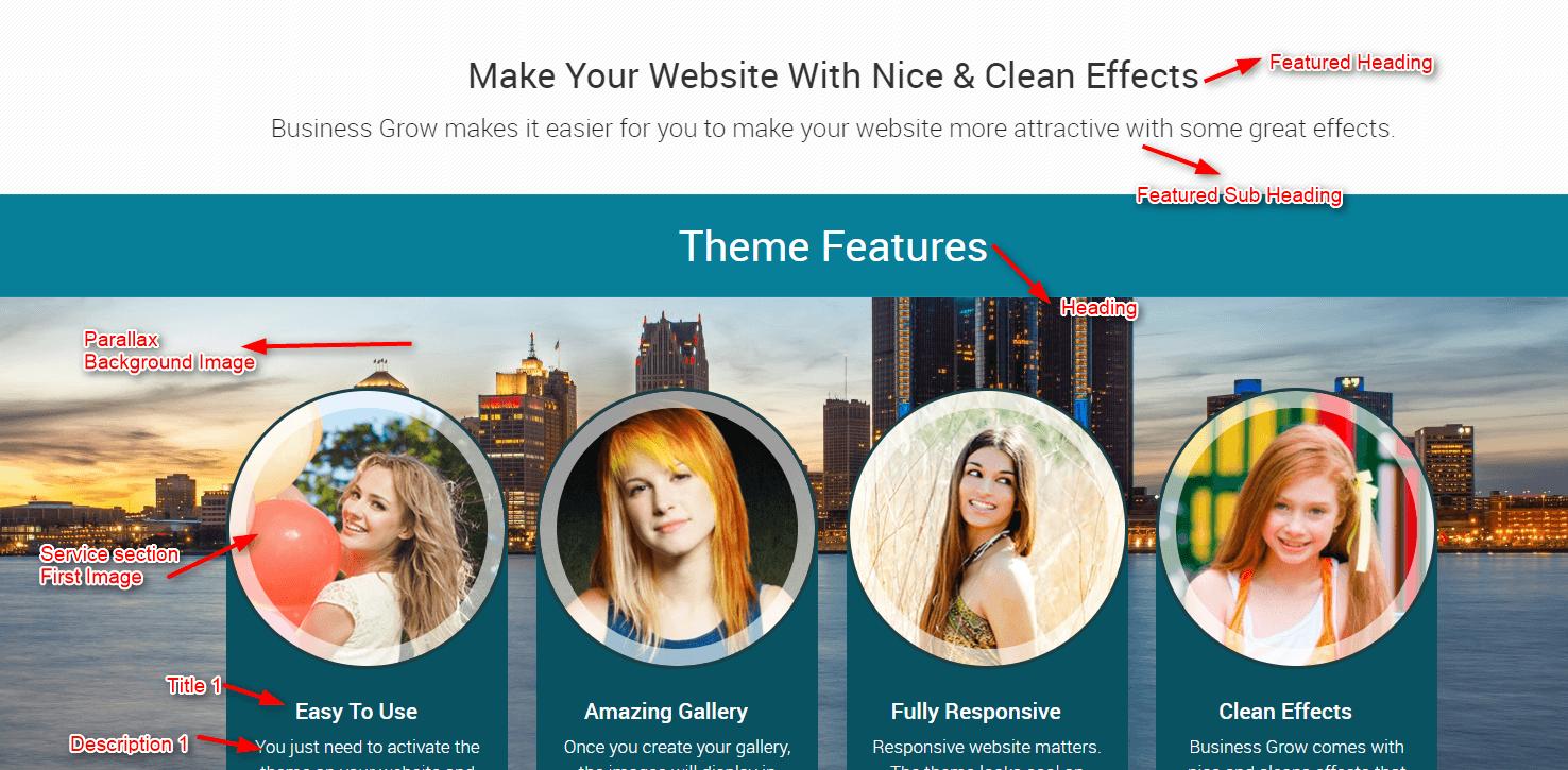 BusinessGrow WordPress Theme