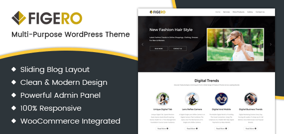 Figero Pro – Flexible WordPress Theme