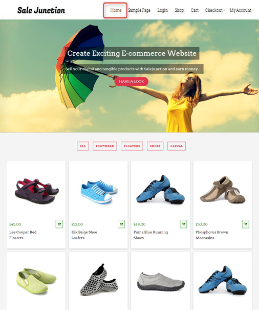 SaleJunction WordPress Theme