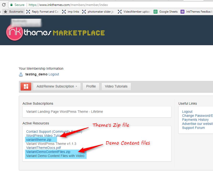 Variant WordPress Theme