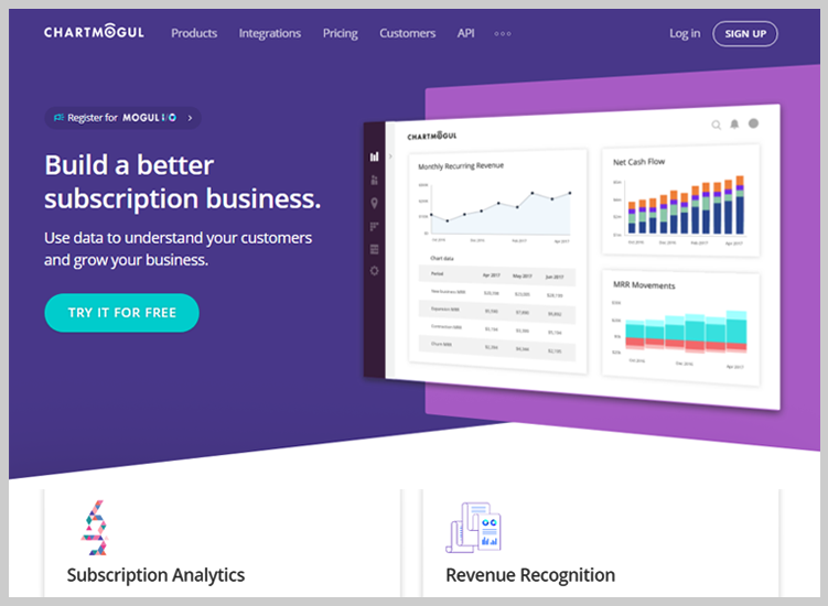 ChartMogul PayPal Analytics Software