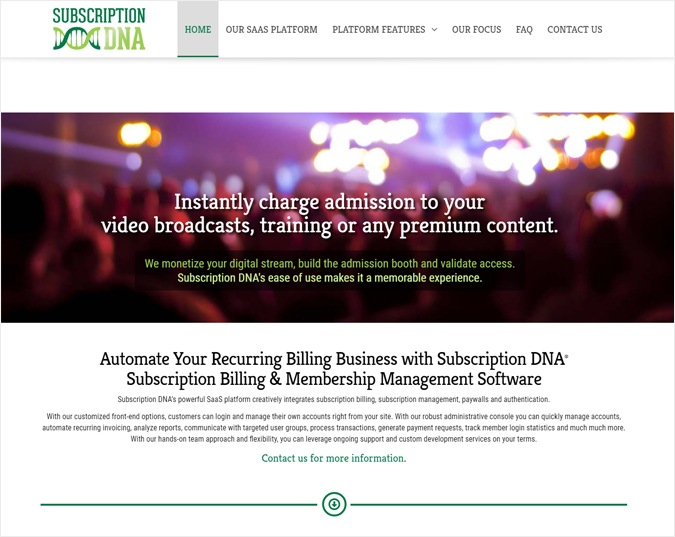 Subscription DNA-Best-Transaction-Management-Tools