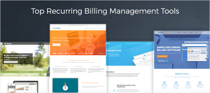 Top Recurring Billing Management Tools