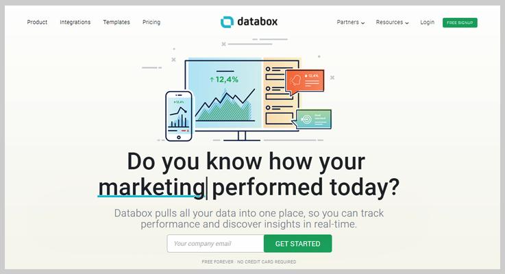Databox - Cheap Alternatives & Competitors Of ChartMogul