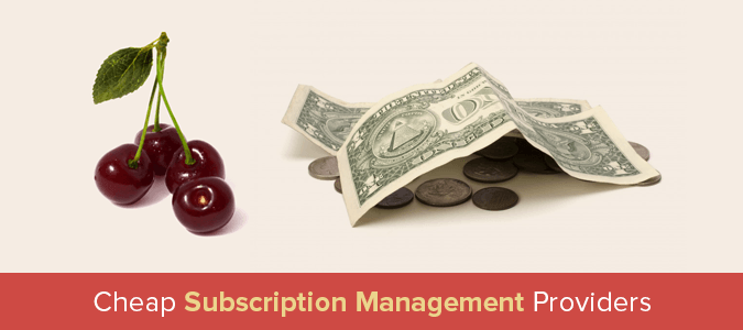 Subscription Management Providers
