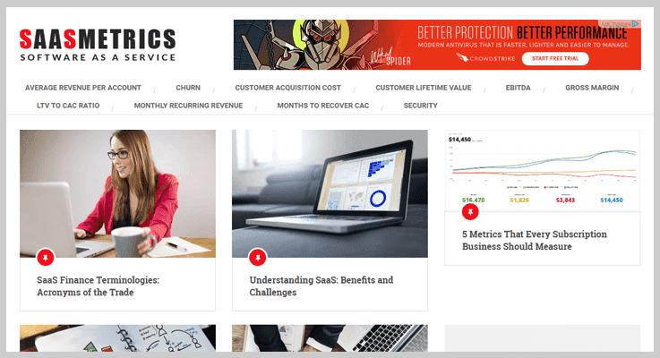 SaaS Metrics Subscription Analytics Tool
