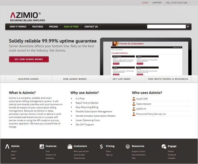 Azimio Recurring Billing API Tool