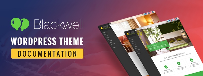 Blacwell WordPress Theme Documentation