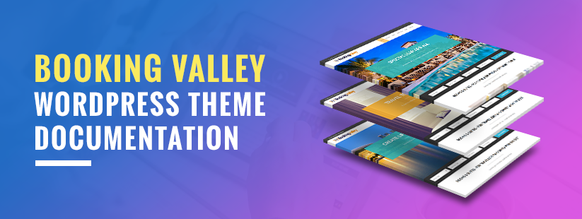 Booking Valley WordPress Theme Documentation