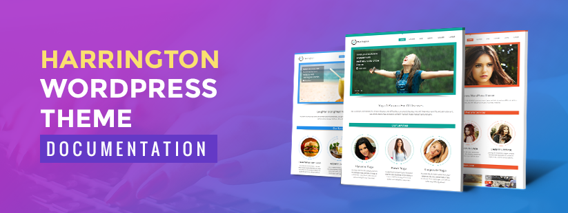 Harrington WordPress Theme Documentation