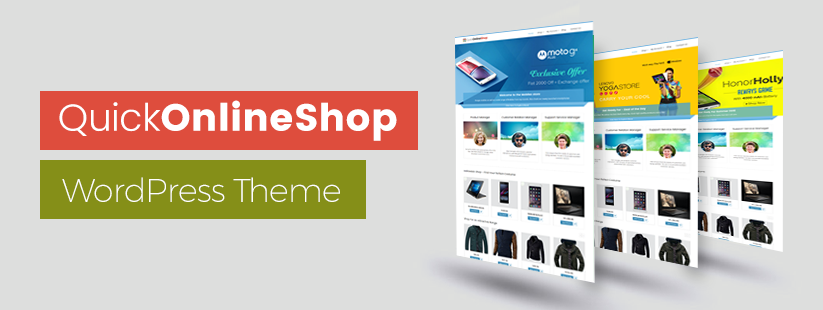 Quick Online Shop WordPress Theme Documentation
