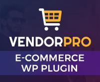 VendorPro - Unique Multi Vendor E-Commerce WordPress Plugin