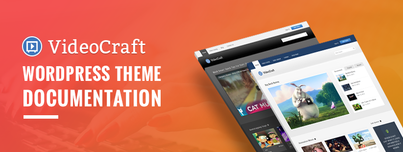 VideoCraft WordPress Theme Documentation