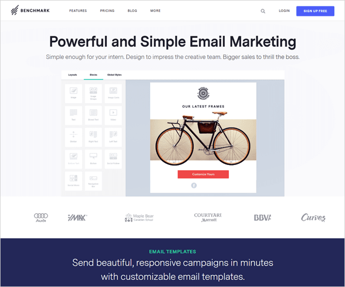 Benchmark Email Marketing Services