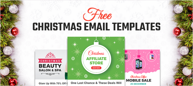 Christmas Email Templates