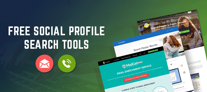 6 Social Profile Search Tools 2018 With Free Trail