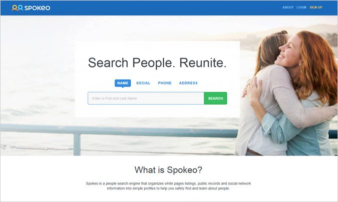 Spokeo-Free-Social-Profile-Search-Tools