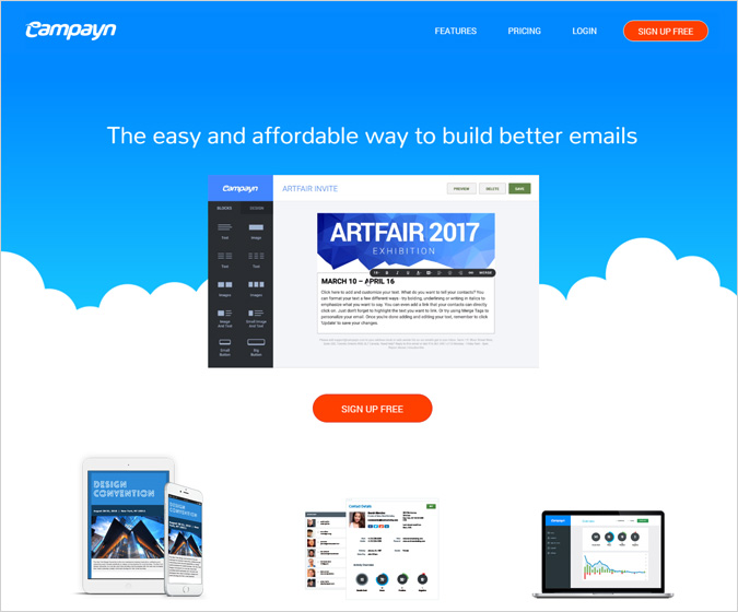 Campayn Email Marketing Software