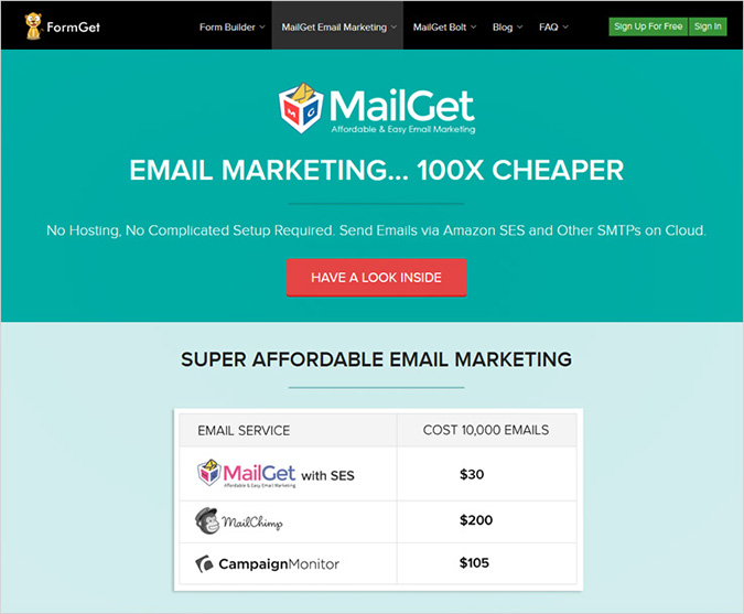 Mailget Email Marketing Software