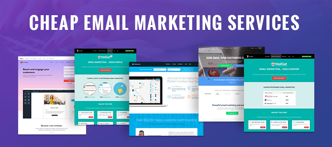5 Cheap Email Marketing Services | Unlimited Mails To 5K Users AT $4