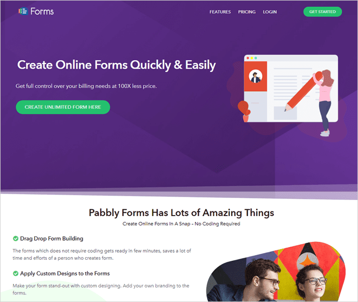 Pabbly Forms Software To Create Forms