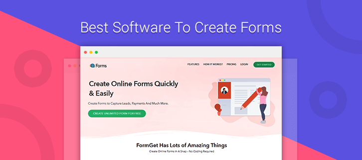 Software To Create Forms