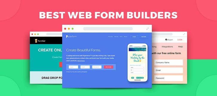 Web Form Builders