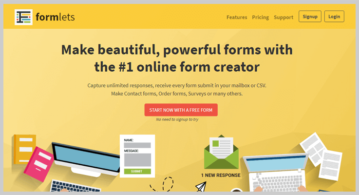 Formlets Form Builder Software