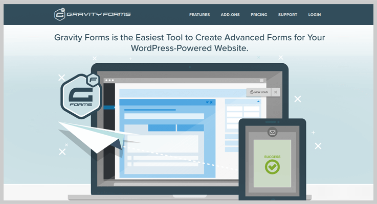 Gravity Forms Online Form Builders