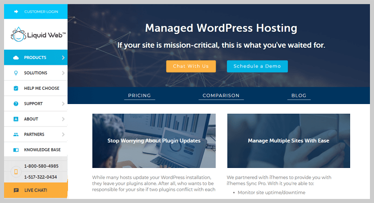 Liquid Web WordPress Hosting