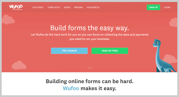 Wufoo Form Maker Software