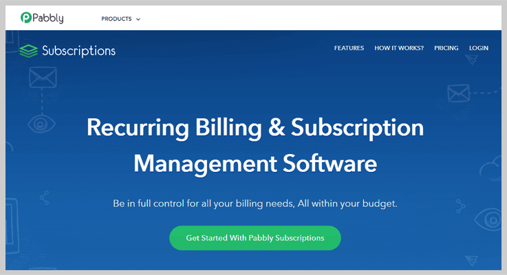 Subscription Management Service - Pabbly Subscriptions