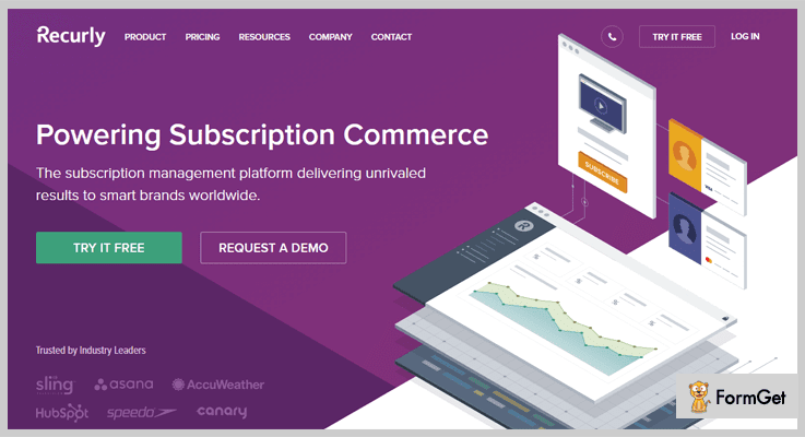 Recurly Subscription Management Provider