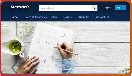 Full Width Sliders MembrO WordPress Themes