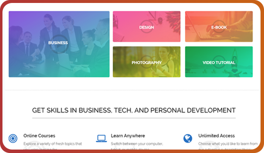 Highlight Special Features Membro WordPress Theme