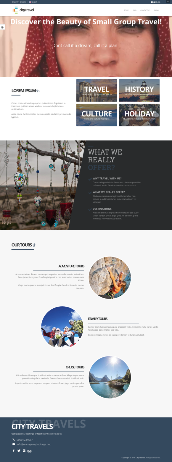 Full Website Preview