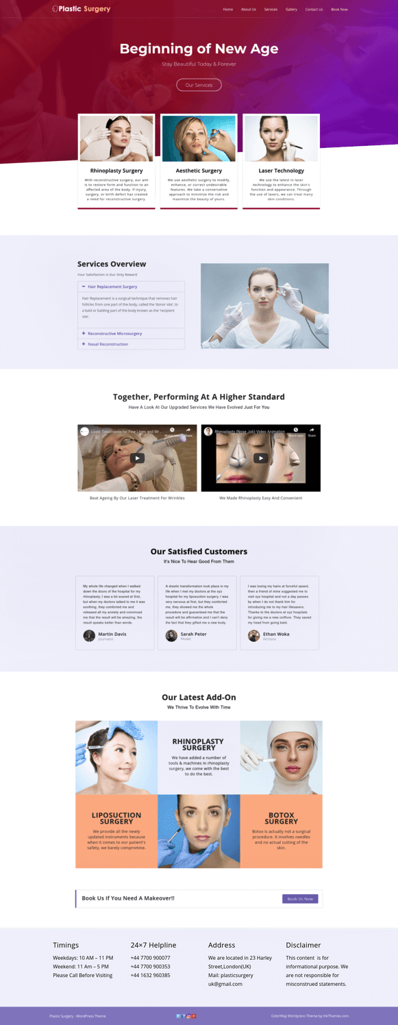 Home Page- Full View