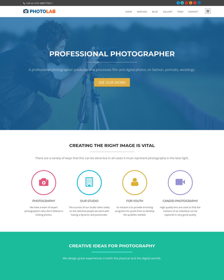how to create a photography portfolio in wordpress