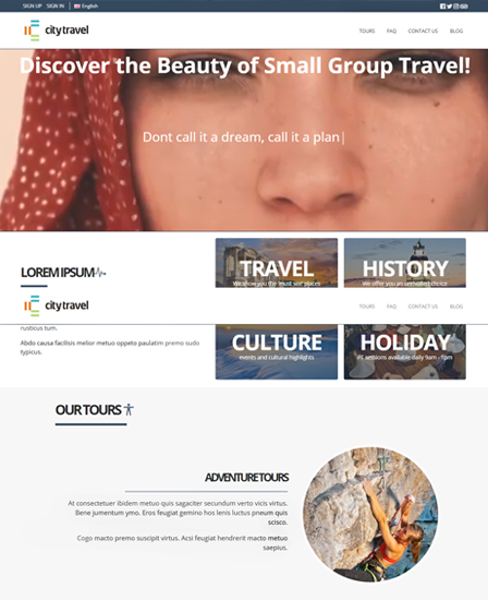 Travel Agency PHP Script