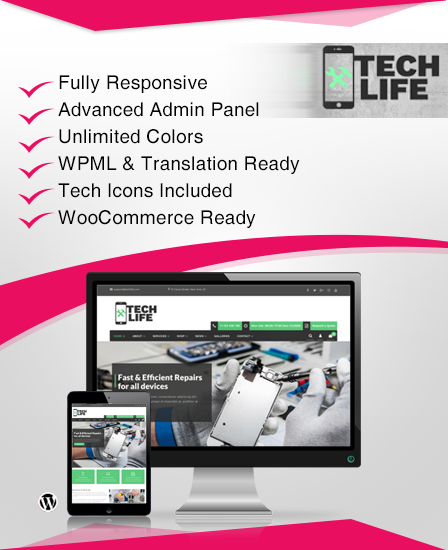 TechLife WordPress Theme